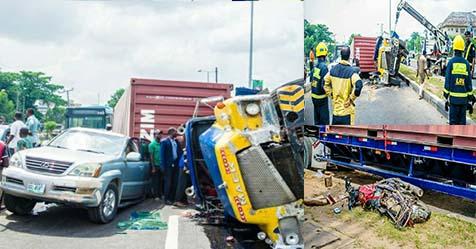 Car accident in Lagos
