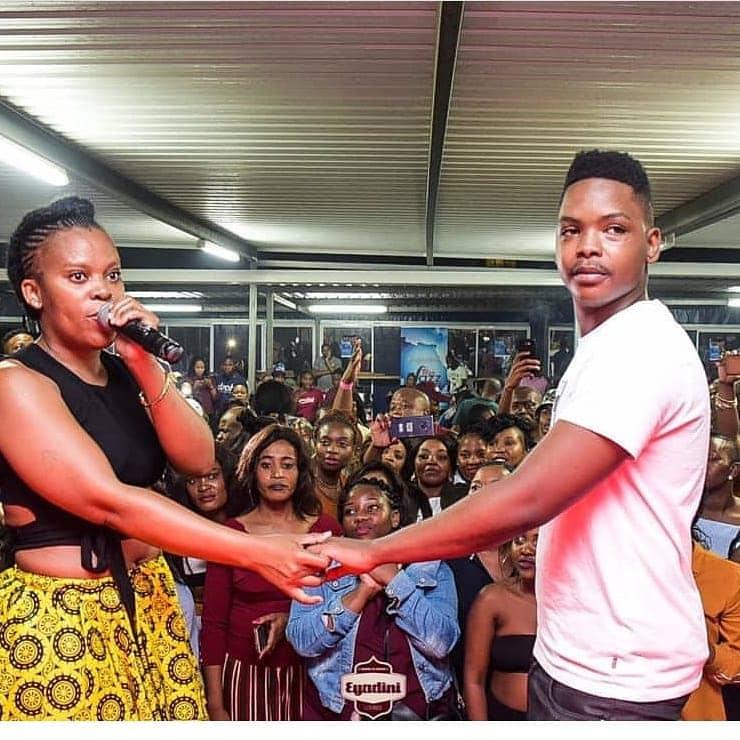 SA pantless dancer Zodwa Wabantu, 33, proposes to her 24-year-old boyfriend with $43,000