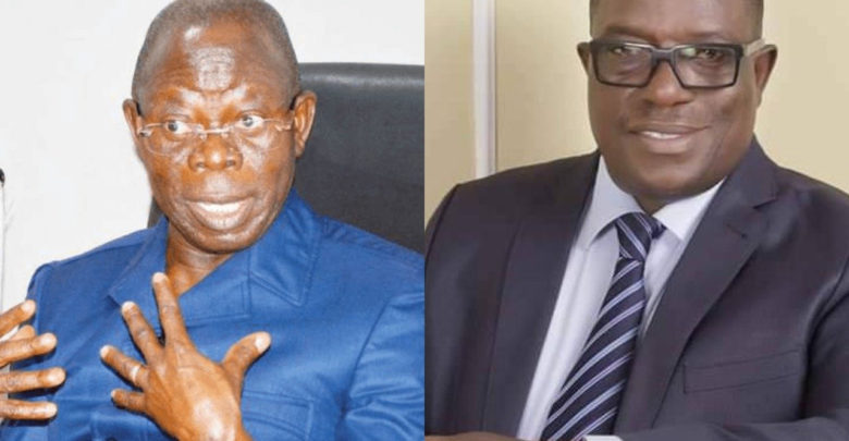 How can a deputy secretary declare himself chairman of APC, fear God and have common sense - Oshiomhole slams Victor Giadom